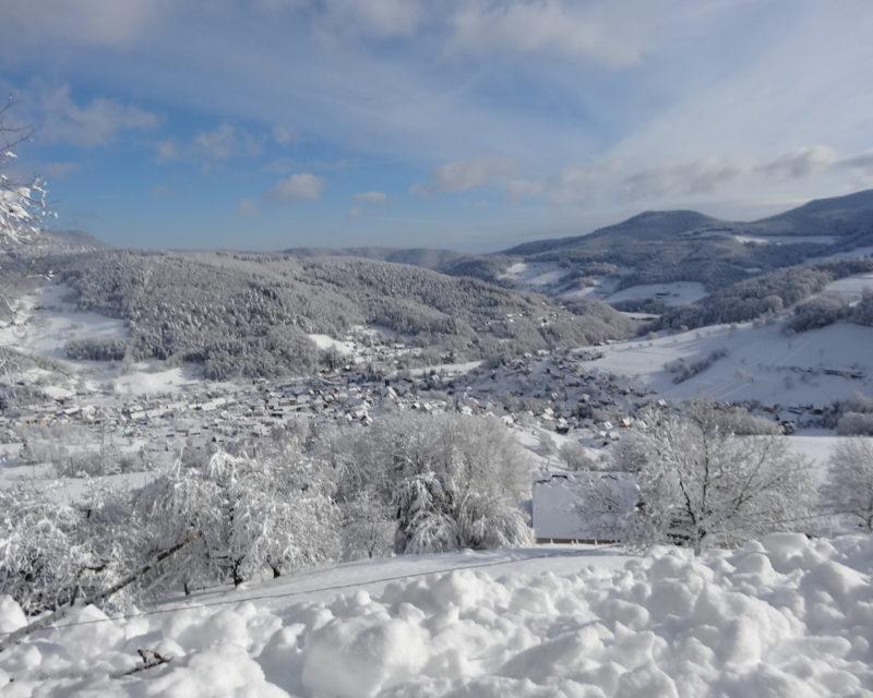 vue sur le village de Lapoutroie